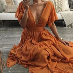 Charming Prom Dress,Chiffon Evening Dresses,V-Neck Prom Dresses,A-Line Prom Gown… Prom dress, a-line prom dress # # abendkleid # dress # kleider # kleider bis… Women's Dresses, V Neck Prom Dresses, Chiffon Evening Dresses, Elegant Dresses, Pretty Dresses, Beautiful Dresses, Boho Prom Dresses, Chiffon Dress Long, Long Dresses