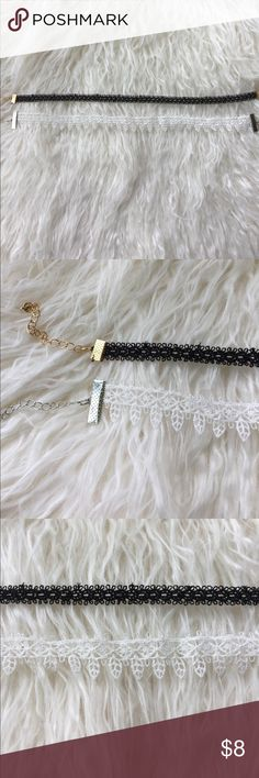 Lace Chokers Set of two super cute lace Chokers Jewelry Necklaces