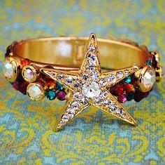 Swarovski Crystal Shooting Star Bracelet http://www.etsy.com/shop/glamourpusscouture?ref=pr_shop