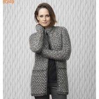 Modele manteau femme crochet