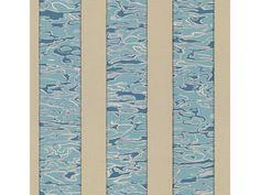 Kravet Print Light Blue WATERWAVE.516