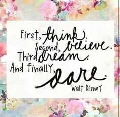 Allow yourself to dream and be DARING today!
