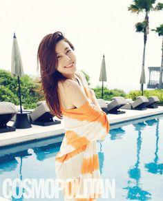 Kim Ha Neul - Cosmopolitan Magazine April Issue 2013
