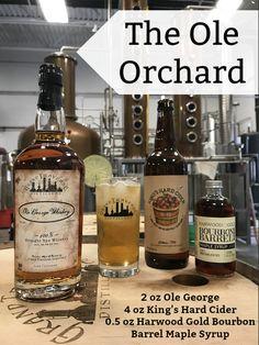 The perfect autumn cocktail Whiskey Wednesday, Fall Cocktails, Distillery, Bourbon, Vodka Bottle, Barrel, Alcohol, Entertaining, Autumn
