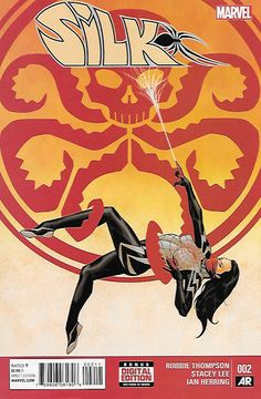 Silk , _Written By Robbie Thompson , Art Stacey Lee , Cover Art Dave Johnson , Silk fights a familiar foe with metal tentacles! And there's much you still don't know about Silk!