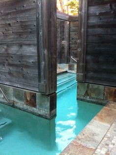 Japanese Baths at The Ventana Inn in Big Sur, CA