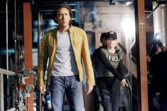Nicolas Cage and Julianne Moore in Next Nicolas Cage, Julianne Moore, Jessica Biel, Tv, Cinema, Mens Sunglasses, Fictional Characters, News, Italia