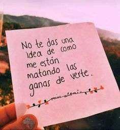 Love Phrases, Love Words, Tumblr Quotes, Me Quotes, Romantic Spanish Quotes, Diet Motivation Quotes, I Love You Baby, Love Images, Love Messages