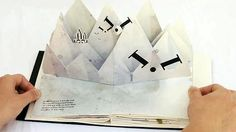 Bodoni Bedlam pop-up book
