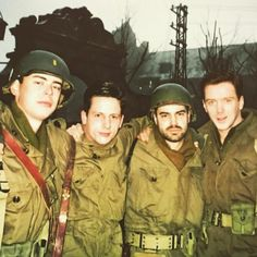 Casey Wolfe (Band of Brothers set photos from Ross McCall.  (x))