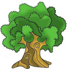Pasitos de Colores: 29 DE AGOSTO: DÍA DEL ÁRBOL Fairy Garden Houses, Garden Painting, Arts And Crafts, Paper Crafts, Printable Art, Printables, Clipart, Trees To Plant, Bowser