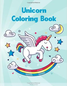Magical Unicorns, Beautiful Flowers, and Relaxing Fantasy Scenes Workbook For Girls, Boys, and Anyone Who Loves Unicorn. ... To Dot, Mazes, pattern Word Search and More! - - unicorn coloring books for kids, unicorn coloring book free printable, unicorn coloring book cover, unicorn coloring book pages, unicorn drawing, unicorn birthday party, unicorn animal, unicorn symbolism, unicorn abilities, unicorn real life, unicorn pictures, where do unicorns live, unicorn horn, unicorn wallpaper Amazon Coloring Books, Coloring Book Pages, Unicorn Pictures, Word Pictures, Where Do Unicorns Live, Unicorn Books, Unicorn Drawing, Cricut, Elk Hunting