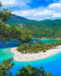 Beautiful Places To Travel, Most Beautiful Beaches, Beaches In The World, Places Around The World, Marmaris Turkey, Turkey Destinations, Australia Tourism, Turkey Holidays, Turkey Travel