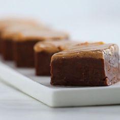 Peanut Butter Chocolate 3-ingredient Fudge Recipe by Tasty