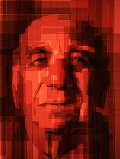 Mark Khaisman -- Packing Tape Art