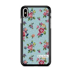 Vera Bradley Water Bouquet iPhone X Case – Miloscase Plastic Material, Vera Bradley, Perfect Fit, Bouquet, Samsung Galaxy, How To Apply, Phone Cases, Iphone, Water