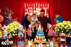 Festa Circo - Hora dos parabéns!