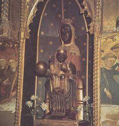 Black Madonna in the Cathedral of Tarragone, Spain  (Vierge noire de la cathédrale de Tarragone)