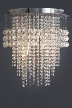 Is your interior looking a bit lifeless? Why not take it up a notch and take a look at our Illusion 3 Light Clear Glass Flush, you will love it!