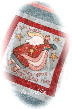 Angels Among Us Calendar Quilt by Nancy Halvorsen