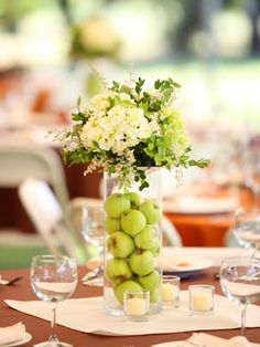 Unique Wedding Centerpieces For Early Fall Weddingdifferent Colors Our November Would Do