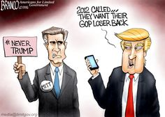 Romney is trying his best trip up the 2016 GOP front runner, but Trump has something to say about that.