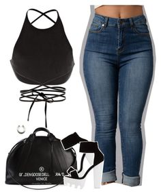"""""""Untitled #1322"""" by queen-tiller ❤ liked on Polyvore featuring Calvin Klein Collection and Golden Goose"""
