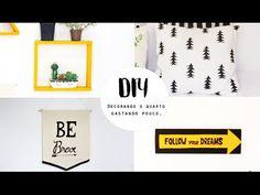 Veja abaixo a lista de materiais. Ta pensando em redecorar o quarto sem precisar gastar muita grana? Nesse vídeo mostro 4 opções simples pra você fazer tudo ...