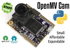 Add machine vision to your projects by scripting Python. Small, affordable, and expandable with shields.