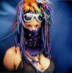 goggles & bandana - burning man fashion