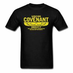 USCSS Covenant Weyland Yutano Corporation Horror TV series alien Covenant T-Shirt