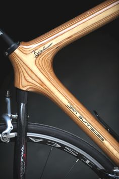 Gunneweg-05k Wooden Bicycle, Wood Bike, Park Trails, Bicycle Components, Cool Bicycles, Santa Clara, Bike Stuff, Made Of Wood, Cycling Outfit