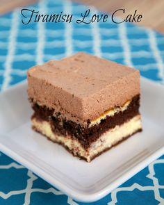 Tiramisu Love Cake - chocolate, cheesecake & Kahlua