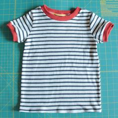 How to Make a short-sleeved Flashback Tee