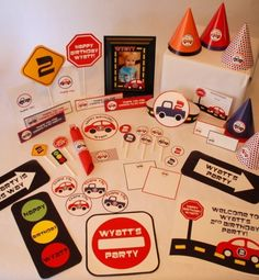 car themed party !