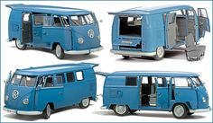 The iconic VW Bus - Old School and retro