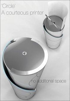 Circle – A Continuous Printer by Yang Jae Wook » Yanko Design