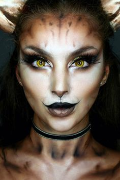 Fantasy makeup is the perfect way to escape the grim reality. Sometimes it is exactly what you need to get yourself back in shape. Try it out! Makeup Goals, Halloween Face Makeup