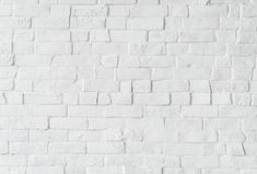 """Shop our online range of Brick Wallpaper. Industrial White Brick Wall Wallpaper will effortlessly give an urban """"lived-in"""" feel to your interior. Luxe Walls products are all removable, peel and stick bespoke wallpapers. Exposed Brick Wallpaper, Black Brick Wallpaper, White Wallpaper, Concrete Bricks, White Concrete, Brick Wall Background, Textured Background, White Background Plain"""