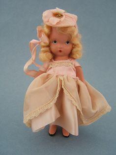 Vintage Bisque NASB Nancy Ann Storybook Little Bo Beep Doll #153