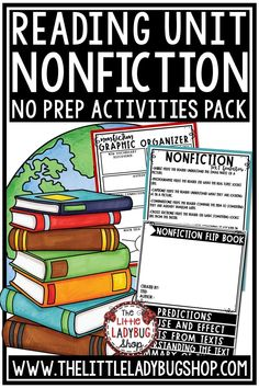Grow your readers with this wonderful Nonfiction and Text Features Packet.  This Reading Nonfiction Unit is full of tools that I use to work with my students when we are studying our nonfiction! It is my toolkit to get my students to understanding Informational text and showing me their mastery of the skill. This unit is perfect for 3rd grade, 4th grade and home school classrooms. #nonfictionunit #nonfictionreadingresponse #nonfictiongraphicorganizers #nonfictionactivities