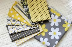 Love this fabric combo! (Michael Miller)