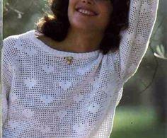 Striploin Pullover mit Herzen