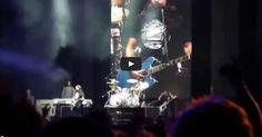 Veja só o que Dave Grohl fez ao vivo no Chile