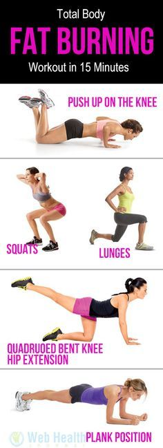Total Body Fat Burning Workout in 15 Minutes. : #ab_workouts