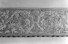 Border ~ second half of the 16th century ~ Italian ~ Silk embroidery on linen ~ Metropolitan Museum of Art