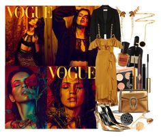 """""""This is me saying that I would set myself on fire to bring light to all of the dark places within you"""" by brownish ❤ liked on Polyvore featuring Tom Ford, Pomellato, Deborah Lippmann, MAC Cosmetics, Yves Saint Laurent, Temperley London, Charlotte Tilbury, Gucci, Stephen Webster and Fernando Jorge"""