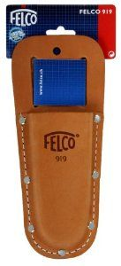 Felco F-919 Leather Holster for Belts Only (No.99) by Felco. $10.99. Designed to fit on belt only; Most popular FELCO holster; Heavy duty grain leather; Extra riveting for long lasting use; Fits all pruning shear makes. With over 65 years of unsurpassed quality, FELCO is renowned the world over for providing top-quality pruning and cutting products for professionals and hobbyists alike. Made in Switzerland, FELCO products are designed and manufactured for ease-of...