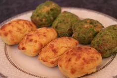 Madeleines salées aux légumes et fromage