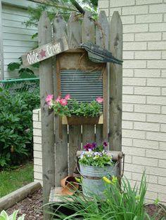 Sweetpeas Primitives: Some Outdoor Garden Picks